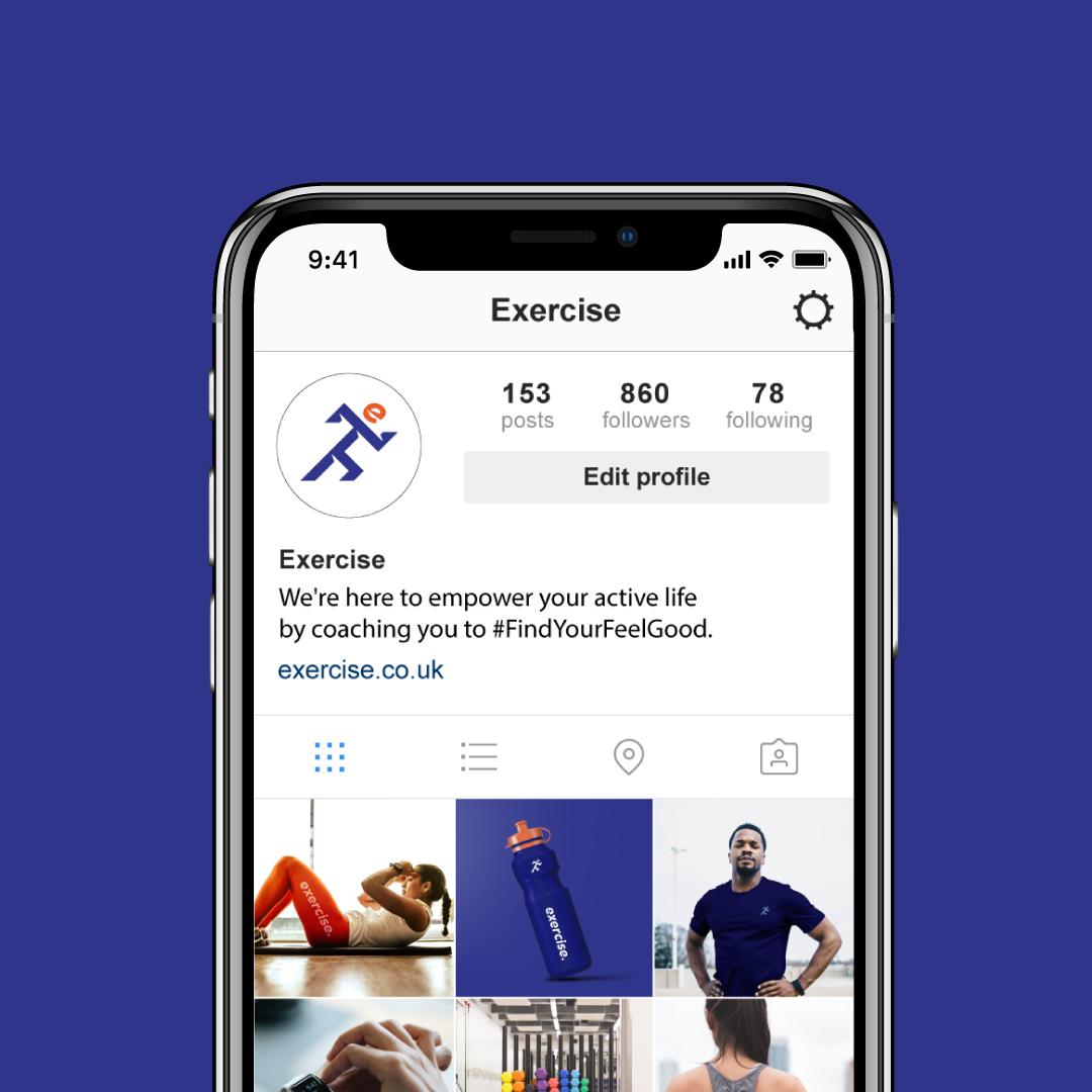 Exercise_iPhone-X-Instagram